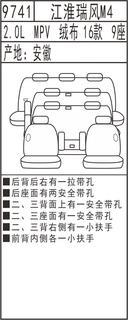9741江淮瑞风M4